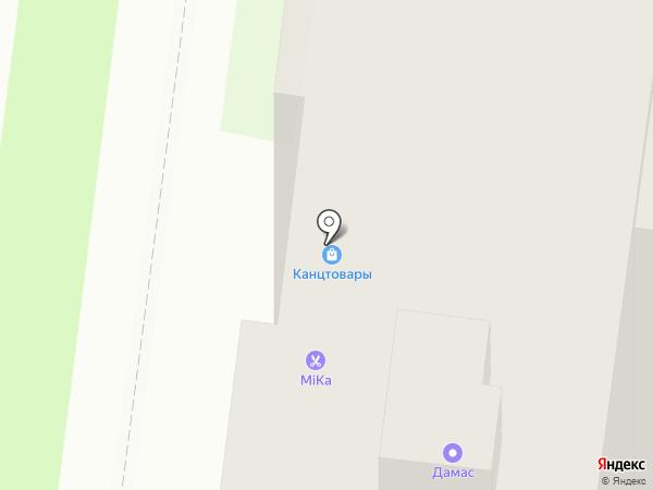 Хим-Чисто на карте Великого Новгорода