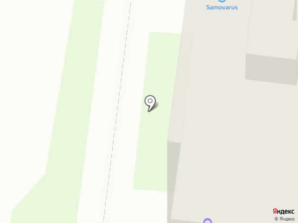 Радикс на карте Великого Новгорода