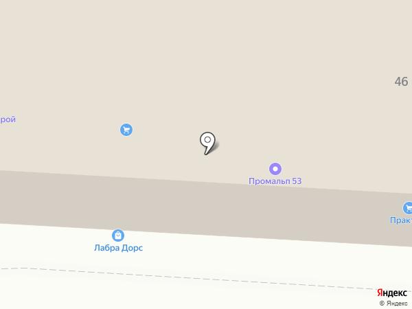 ПРАКТИКА на карте Великого Новгорода