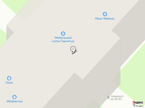 Столплит на карте Великого Новгорода