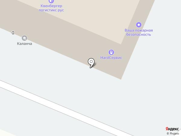 ХАРД на карте Великого Новгорода
