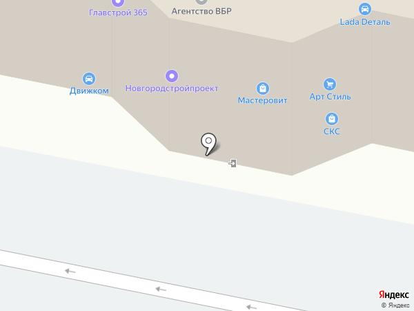 Новгород.ру на карте Великого Новгорода