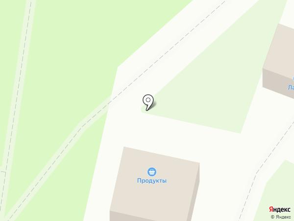 Лактис на карте Великого Новгорода