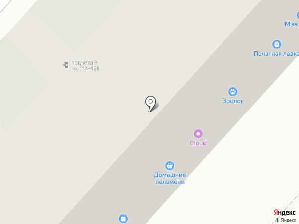 Пресстайм на карте Великого Новгорода