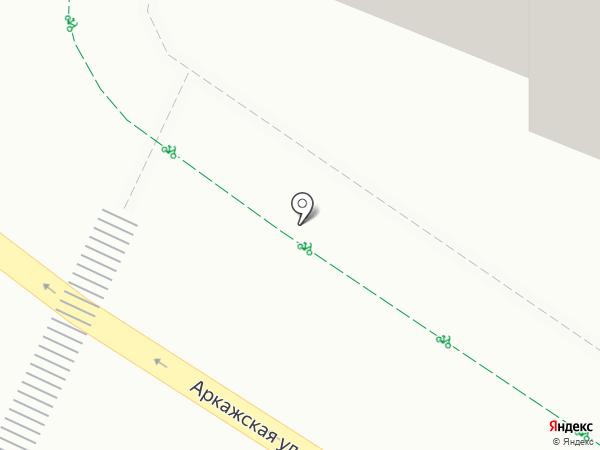 Аркажская Слобода на карте Великого Новгорода