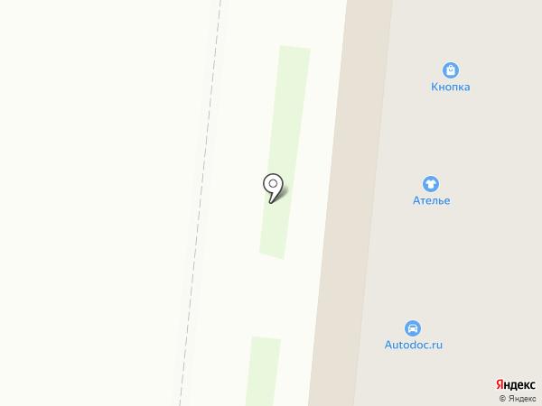 Связной на карте Великого Новгорода