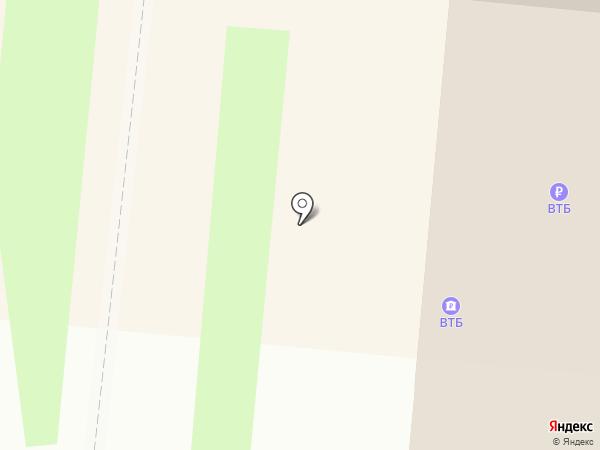 Банк ВТБ 24, ПАО на карте Великого Новгорода