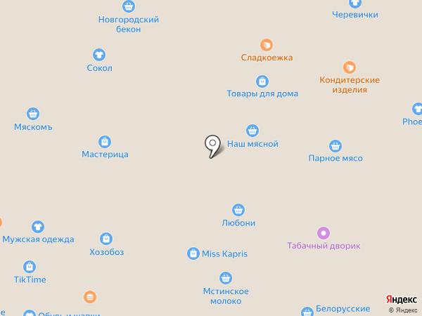 Арктика на карте Великого Новгорода
