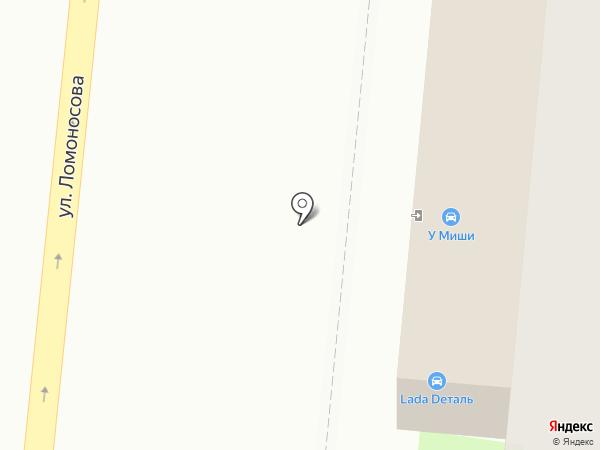 Автозапчасти у Миши на карте Великого Новгорода