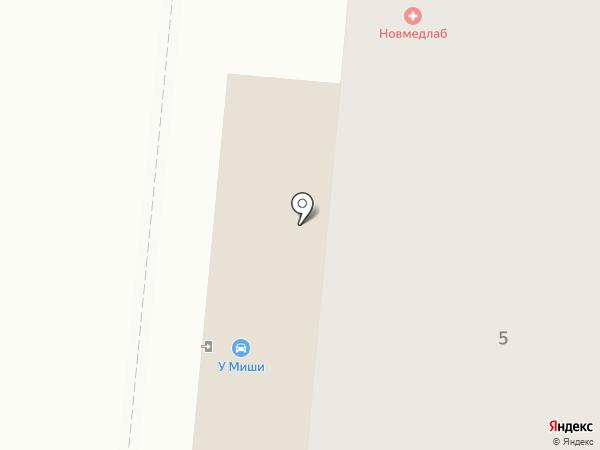 DNS на карте Великого Новгорода