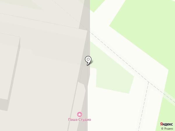 Беллиссимо на карте Великого Новгорода