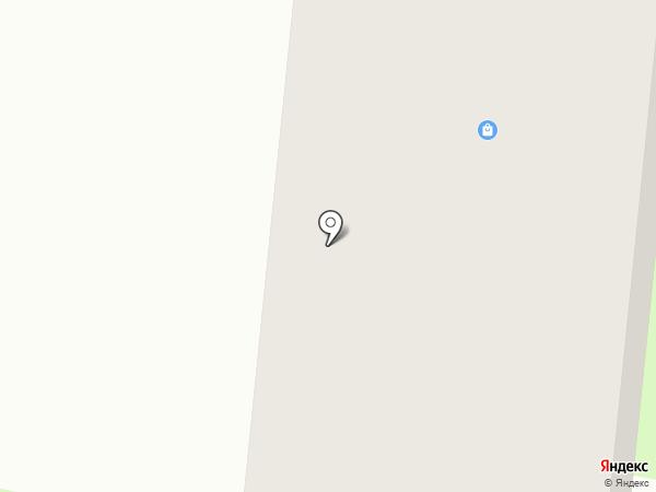 Продовольственный магазин на ул. Ломоносова на карте Великого Новгорода