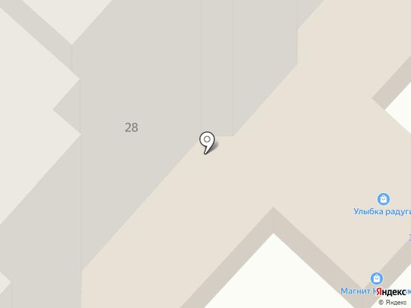 Авангард на карте Великого Новгорода