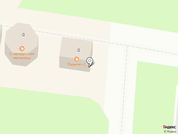 ДОН ПИОН на карте Великого Новгорода