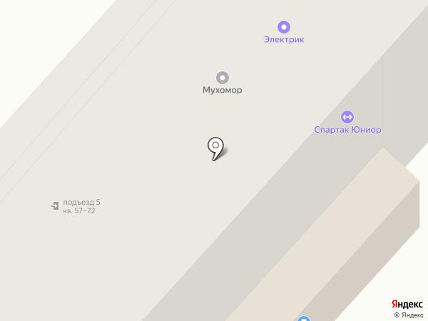Электромонтаж S на карте Великого Новгорода
