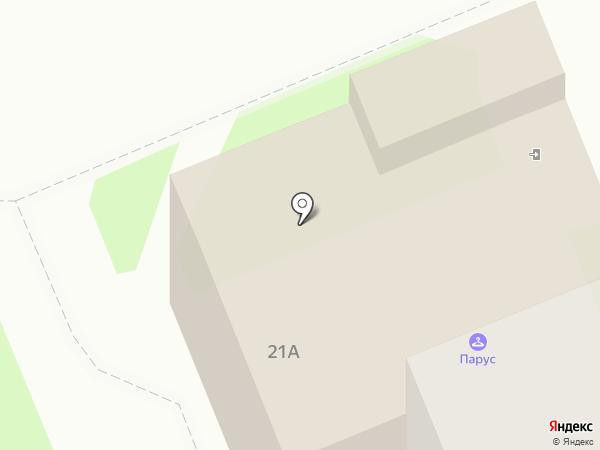 Горячая путёвочка на карте Великого Новгорода