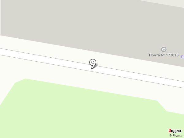 Почтовое отделение №16 на карте Великого Новгорода