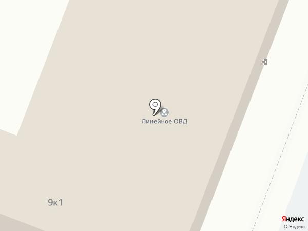 Линейный отдел МВД России на транспорте на карте Великого Новгорода