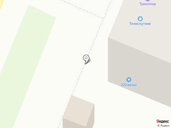 Телеспутник на карте Великого Новгорода