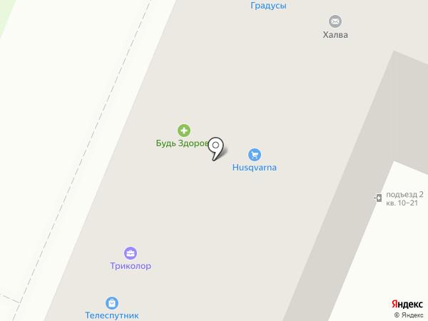 INDY на карте Великого Новгорода