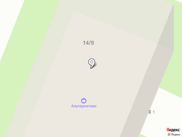 Альтернатива, АНО ДПО на карте Великого Новгорода