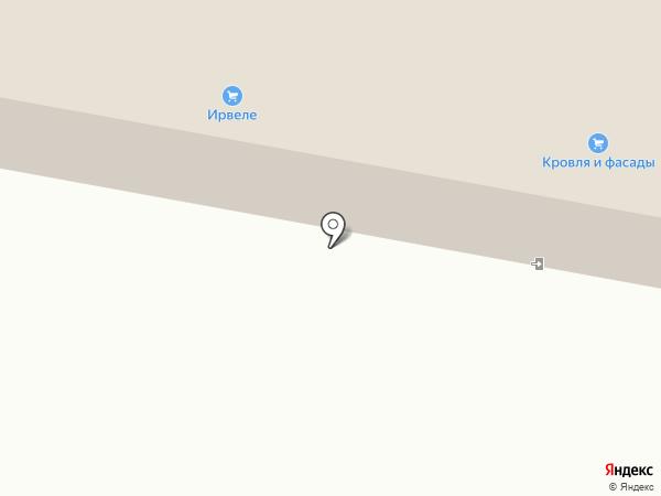 Ирвеле на карте Великого Новгорода