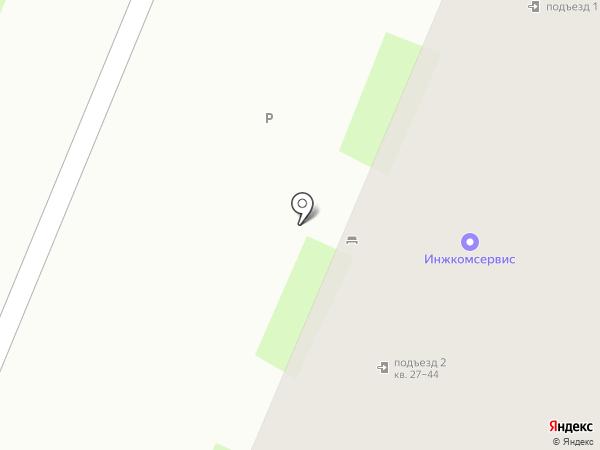Параклит на карте Великого Новгорода