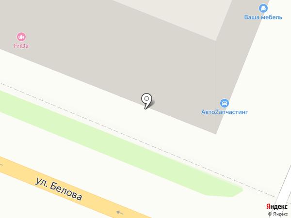 АвтоZапчастинг на карте Великого Новгорода