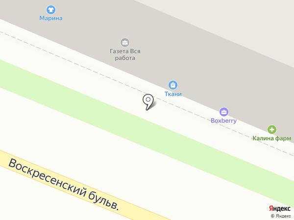 Работа, обучение, отдых на карте Великого Новгорода