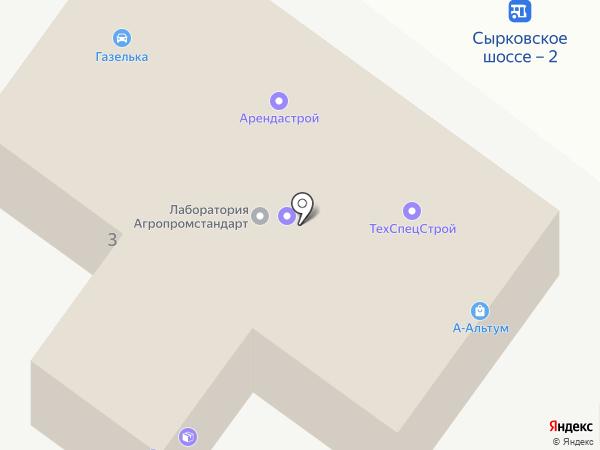 Компания по продаже песка и щебня на карте Великого Новгорода