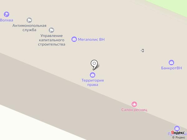 Атлант-Лекс на карте Великого Новгорода