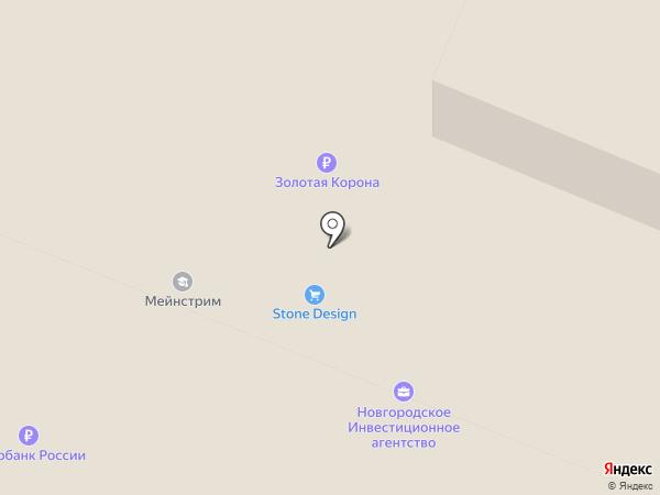 Адвокатский кабинет Глущенко В.И. на карте Великого Новгорода