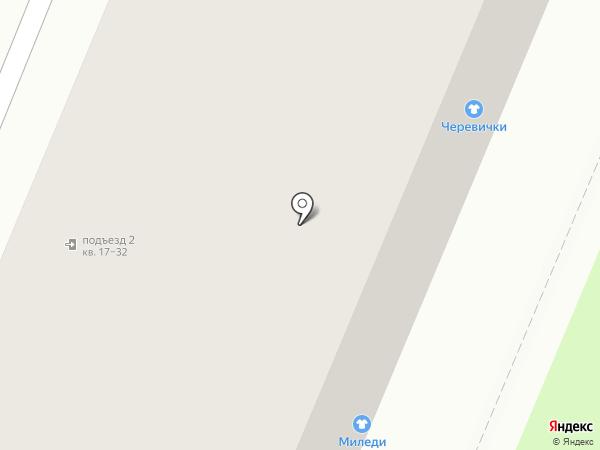 Находка на карте Великого Новгорода