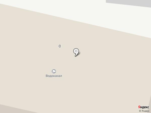 Новгородский водоканал, МУП на карте Великого Новгорода