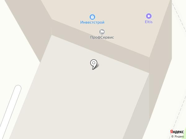 Инвестстрой, ЗАО на карте Великого Новгорода