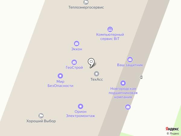 Premium на карте Великого Новгорода