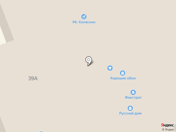 Альтаир на карте Великого Новгорода