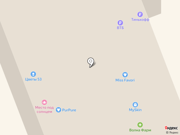 Банкомат, Банк СГБ, ПАО на карте Великого Новгорода