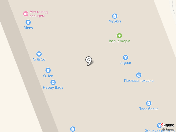 Упаковочка на карте Великого Новгорода