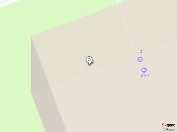 Круиз на карте Великого Новгорода