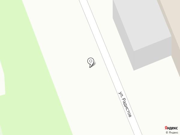 Следственный изолятор №1 на карте Великого Новгорода