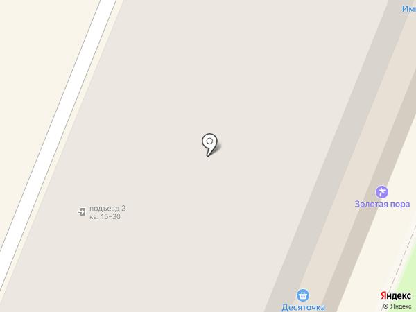 Десяточка на карте Великого Новгорода