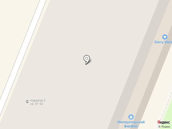 Фарфор на карте Великого Новгорода
