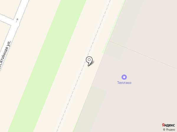 ТеплЭко на карте Великого Новгорода