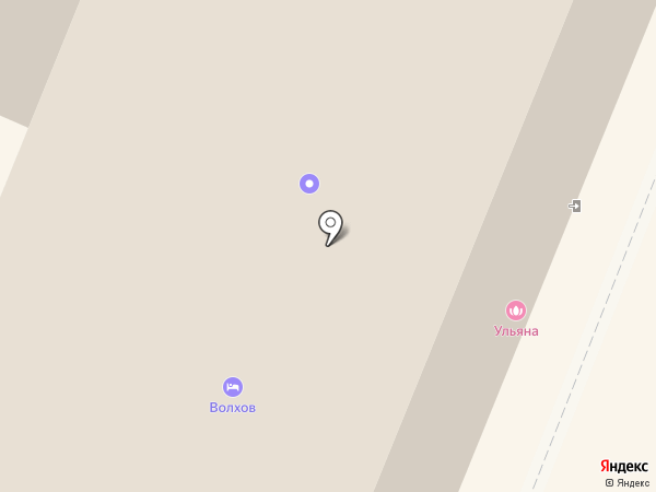 Волхов на карте Великого Новгорода