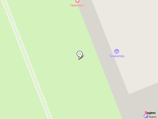 Суши-маркет на карте Великого Новгорода
