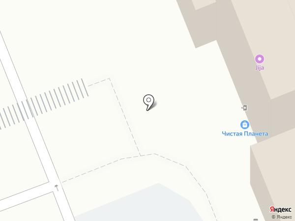 Линзамат на карте Великого Новгорода