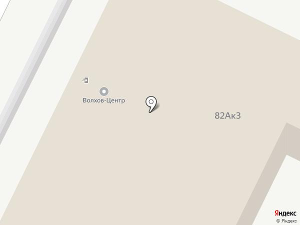 Волхов-Центр на карте Великого Новгорода