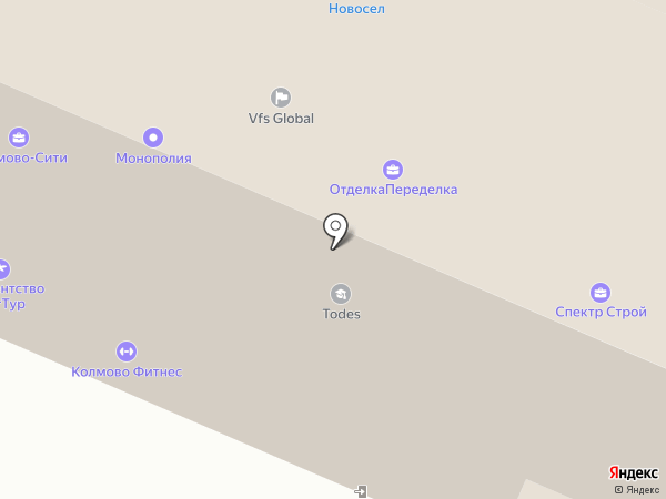 Артлайн на карте Великого Новгорода