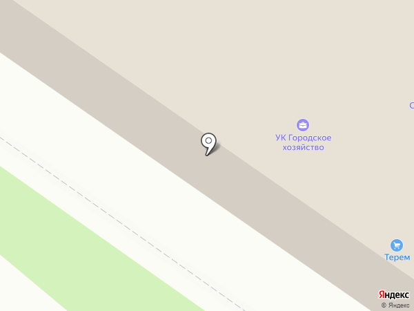 Альфа-терминал на карте Великого Новгорода